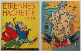 Ancien Catalogue Etrennes Hachette - 1938 - Livres Pour Enfants - Vecchi Documenti