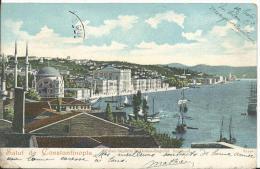 TURQUIE - CONSTANTINOPLE - PANORAMA - Turchia