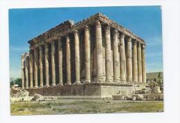 Baalbeck Temple Of Bacchus Postcard Lebanon From 70th Year  , Carte Postale Liban - Lebanon