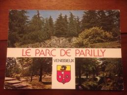 Venissieux Le Parc De Parilly Cpm Multi Vues - Vénissieux