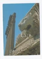 Baalbeck Temple Of Jupiter Postcard Lebanon From 70th Year  , Carte Postale Liban - Lebanon