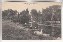 REGION PARISIENNE - 94 - CRETEIL ( La Boucle De La Marne ) : Le Pont Suspendu - CPA Précurseur - Val De Marne - Creteil