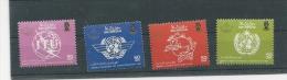 BRUNEI 1986 Sg 383-6 World Orgs. MNH - Brunei (1984-...)