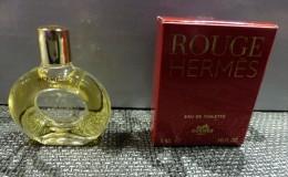 MINIATURE PARFUM  - HERMES Eau De Toilette Rouge - Miniatures Womens' Fragrances (in Box)
