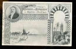 BTEPYS Algérie Souvenir Du Voyage Du Président De La République Avril 1903 - Algeria