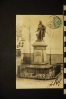CP, 21, DIJON Statue De Garibaldi N° 80 Voyagé En 1904 Ed L V - Dijon