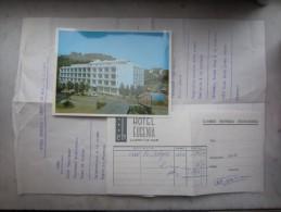 LOT Hôtel EUGENIA (M1505) ESPAGNE - LLORET DE MAR (5 Vues) Carretera De Tossa - Carte Postale Menu Change - España