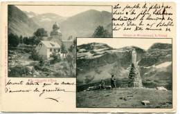 CPA 65  CHAPELLE D HEAS CIRQUE DE TROUMOUSE LA VIERGE Dos Simple - Autres Communes