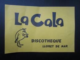 Discothèque LA CALA (M1505) LLORET DE MAR (2 Vues) - Espagne