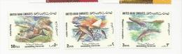 United Arab Emirates  1996 Sg 502 -4 Environmemtal Protcetion MNH - United Arab Emirates