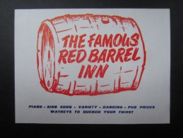 The Famous RED BARREL INN (M1505) LLORET DE MAR? (2 Vues) Calle San Jose - Catasus Martin - Espagne