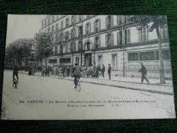 PANTIN - La Route D'AUBERVILLIERS Et La Mafacture D'Allumettes, Sortie Des Ouvriers - Pantin