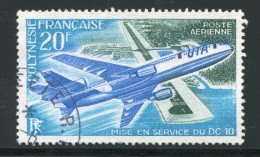 POLYNESIE FRANCAISE- P.A Y&T N°74- Oblitéré - Used Stamps
