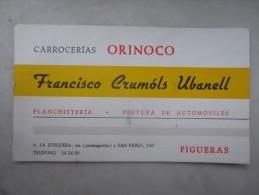 CARROCERIAS ORINOCO (M1505) FIGUERAS - Francisco Crumols Ubanell (2 Vues) La Junquera Y San Pablo - Espagne