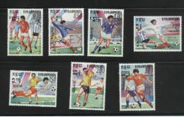 KAMPUCHEA   N° 522/28  * * ( Cote 7.75 E )    Cup 1986     Football  Soccer  Fussball - 1986 – Messico