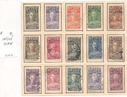 CONGO  BELGE   O    X    1894-1936   Y/T - 1923-44: Usati