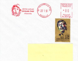 EMA-57 Thionville-22/01/1991-Jacques Brel - Cinéma