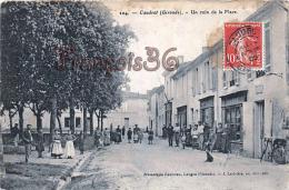 (33) Caudrot - Un Coin De La Place - 2 SCANS - France