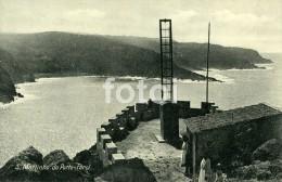 1936 POSTCARD FAROL PHARE LIGHTHOUSE SAO MARTINHO DO PORTO PORTUGAL  POSTALE POSTCARD TARJETA POSTAL SELO STAMP - Leiria