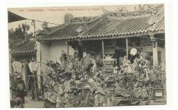 CAMBODGE - Phnom Penh - Fete Chinoise á La Pagode - Cambodge