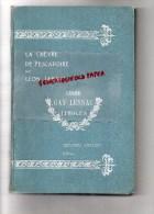 87 - LIMOGES - LYCEE GAY-LUSSAC - LIVRE DE PRIX - LA CHEVRE DE PESCADOIRE PAR LEON LAFAGE-GRASSET -H.DELUERMOZ ILLUSTRAT - Limousin