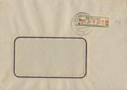 DDR Brief ZKD EF Minr.31 Leipzig 13.8.60 - Dienstpost