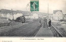 LA FERTE-SOUS-JOUARRE RUE THIERS TRAIN LOCOMOTIVE 77 - La Ferte Sous Jouarre