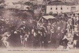 Chastel-la Foire Du 8 Decembre(Les Marchands étalagistes) - Autres Communes
