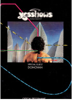 Programme Officiel Du Groupe Rock YES - World Tour 1977 - Programmes