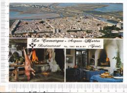 AIGUES  MORTES   -   Restaurant  -   La Camargue - Aigues-Mortes