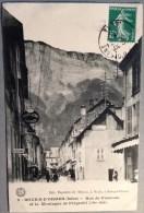 Bourg D´Oisans-38-Rue De Viennois Et La Montagne De Prégentil - Bourg-d'Oisans