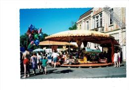 21 PONTAILLER SUR SAONE - Côte D´Or - Fête Au Village - Manège Carrousel - Manoeuvres