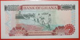 ★BRIDGE★ GHANA★ 2000 CEDIS 2002! UNC CRISP! LOW START★NO RESERVE! - Ghana