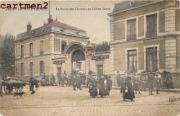 SAINT-ETIENNE LA SORTIE DES OUVRIERS DE L'USINE GIRON 42 - Saint Etienne