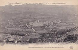 ST PAUL LES TROIS CHATEAUX  VUE PANORAMIQUE (DIL135) - France