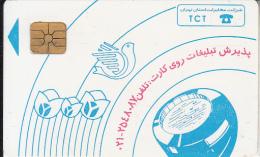 IRAN - Blue Handset, TCT Telecard, Used - Iran