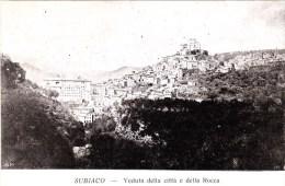 3642.   Subiaco - Veduta Della Città  E Della Rocca - FP - Small Format - Other Cities