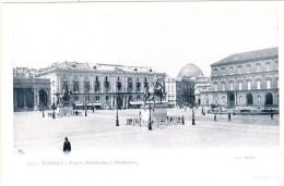 3646.   Napoli - Piazza Plebiscito E Prefettura - Animata- FP - Small Format - Napoli (Naples)