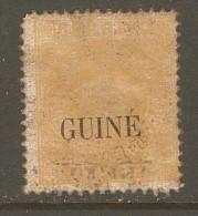 PORTUGESE GUINEA    Scott  # 9*  VF MINT HINGED DISTURBED GUM - Portuguese Guinea