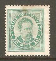 PORTUGESE GUINEA    Scott  # 23a*  VF MINT HINGED - Portuguese Guinea