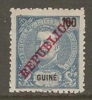 PORTUGESE GUINEA    Scott  # 103*  VF MINT HINGED - Portuguese Guinea