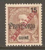 PORTUGESE GUINEA    Scott  # 114*  VF MINT HINGED - Portuguese Guinea
