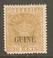 PORTUGESE GUINEA    Scott  # 11*  VF MINT LH - Portuguese Guinea