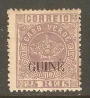 PORTUGESE GUINEA    Scott  # 14*  VF MINT LH - Portuguese Guinea