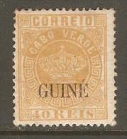 PORTUGESE GUINEA    Scott  # 16*  VF MINT LH - Portuguese Guinea