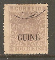 PORTUGESE GUINEA    Scott  # 19  F-VF USED - Portuguese Guinea