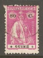 PORTUGESE GUINEA    Scott  # 172  F-VF USED - Portuguese Guinea