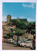 Cpm LIEGE , Boulevard De La Sauvenière Et L'Eglise Saint Martin , Carte Photo ,  1966 - Luik