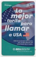 GUATEMALA PREPAYEE BELLSOUTH 25 Q - Guatemala