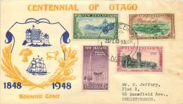 1948  Otago Centennial  FDC - FDC